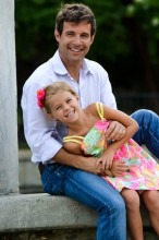 Dr. Cohen and his daughter Eve